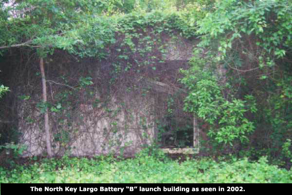 B Battery Launch Building 2002